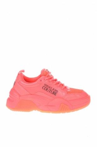 Γυναικεία παπούτσια Versace Jeans, Μέγεθος 35, Χρώμα Ρόζ , Γνήσιο δέρμα, κλωστοϋφαντουργικά προϊόντα, Τιμή 94,71€