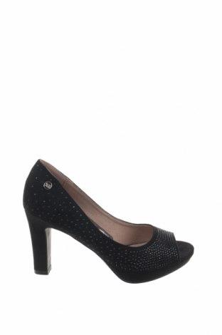 Γυναικεία παπούτσια Xti, Μέγεθος 36, Χρώμα Μαύρο, Κλωστοϋφαντουργικά προϊόντα, Τιμή 26,47€