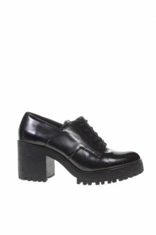 Γυναικεία παπούτσια Zara Trafaluc, Μέγεθος 38, Χρώμα Μαύρο, Δερματίνη, Τιμή 17,63€