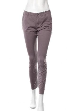 Дамски панталон, Размер M, Цвят Сив, 98% памук, 2% еластан, Цена 10,14лв.