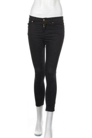 Дамски панталон, Размер S, Цвят Черен, 65% памук, 33% полиестер, 2% еластан, Цена 12,71лв.