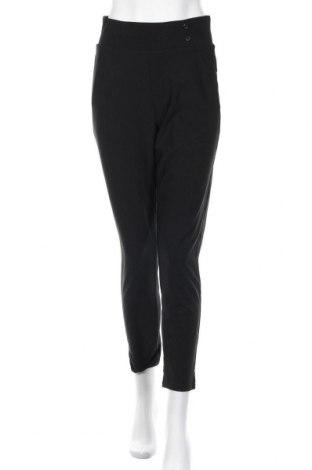 Дамски панталон, Размер S, Цвят Черен, 94% полиестер, 6% еластан, Цена 8,45лв.