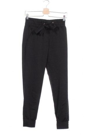 Дамски панталон, Размер XS, Цвят Черен, 98% полиестер, 2% еластан, Цена 37,91лв.