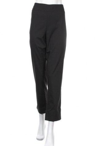 Дамски панталон, Размер XL, Цвят Черен, 97% полиестер, 3% еластан, Цена 9,98лв.