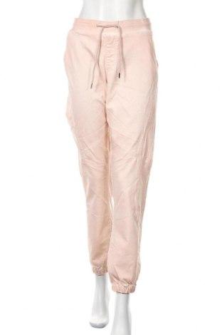 Дамски панталон, Размер XL, Цвят Розов, 64% памук, 34% полиестер, 2% еластан, Цена 13,23лв.