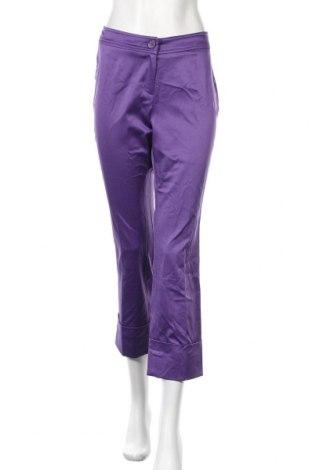 Γυναικείο παντελόνι Apart, Μέγεθος M, Χρώμα Βιολετί, 52% πολυεστέρας, 45% βαμβάκι, 3% ελαστάνη, Τιμή 26,15€
