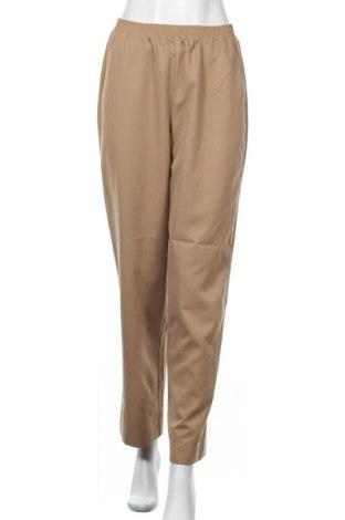 Дамски панталон Aware by Vero Moda, Размер S, Цвят Бежов, Полиестер, Цена 46,50лв.