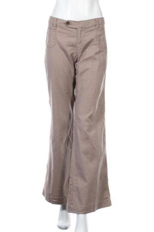 Дамски панталон Banana Republic, Размер L, Цвят Бежов, 55% лен, 43% памук, 2% еластан, Цена 10,24лв.