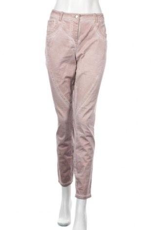 Дамски панталон Best Connections, Размер M, Цвят Розов, 98% памук, 2% еластан, Цена 9,83лв.