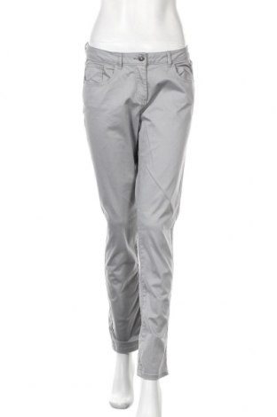 Дамски панталон Blue Motion, Размер M, Цвят Сив, 97% памук, 3% еластан, Цена 9,36лв.