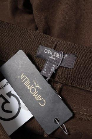 Дамски панталон Camomilla, Размер S, Цвят Зелен, 98% памук, 2% еластан, Цена 18,17лв.