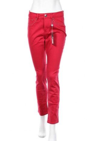 Дамски панталон Camomilla, Размер M, Цвят Червен, 98% памук, 2% еластан, Цена 20,47лв.