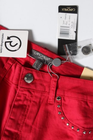 Дамски панталон Camomilla, Размер M, Цвят Червен, 98% памук, 2% еластан, Цена 17,80лв.
