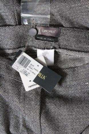 Дамски панталон Camomilla, Размер M, Цвят Сив, 58% полиестер, 26% вълна, 14% вискоза, 2% еластан, Цена 17,80лв.