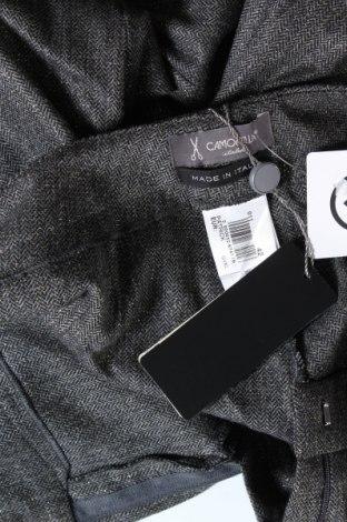 Дамски панталон Camomilla, Размер S, Цвят Сив, 57% полиестер, 27% вълна, 14% вискоза, 2% еластан, Цена 24,92лв.