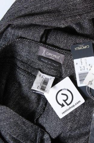 Дамски панталон Camomilla, Размер XL, Цвят Сив, 52% полиестер, 47% вискоза, 1% еластан, Цена 24,92лв.