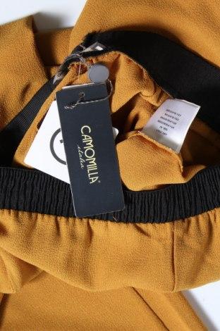 Дамски панталон Camomilla, Размер S, Цвят Жълт, 97% полиестер, 3% еластан, Цена 33,82лв.