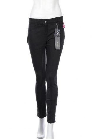 Дамски панталон Camomilla, Размер M, Цвят Черен, 57% памук, 40% полиестер, 3% еластан, Цена 66,75лв.