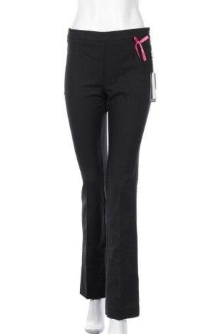 Дамски панталон Camomilla, Размер S, Цвят Черен, 57% памук, 40% полиестер, 3% еластан, Цена 17,80лв.