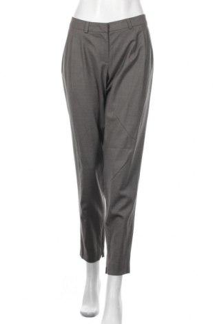 Γυναικείο παντελόνι Daniel Hechter, Μέγεθος L, Χρώμα Γκρί, 78% μαλλί, 18% μετάξι, 4% ελαστάνη, Τιμή 29,00€