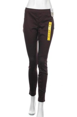 Дамски панталон Denim Co, Размер L, Цвят Кафяв, 72% памук, 26% полиестер, 2% еластан, Цена 24,15лв.