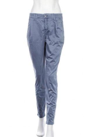 Дамски панталон Drykorn for beautiful people, Размер M, Цвят Син, 97% памук, 3% еластан, Цена 17,64лв.
