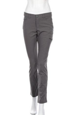 Дамски панталон Eddie Bauer, Размер S, Цвят Сив, 94% полиамид, 6% еластан, Цена 20,58лв.