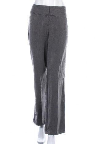 Дамски панталон Elle, Размер L, Цвят Сив, 76% полиестер, 20% вискоза, 4% еластан, Цена 11,03лв.