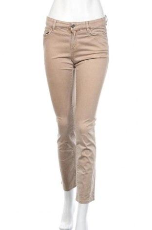 Дамски панталон Esprit, Размер XS, Цвят Бежов, 97% памук, 3% еластан, Цена 23,63лв.