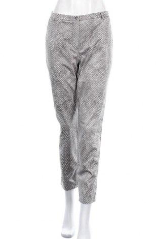 Γυναικείο παντελόνι G.W., Μέγεθος L, Χρώμα Γκρί, 97% βαμβάκι, 3% ελαστάνη, Τιμή 8,18€