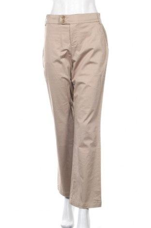 Дамски панталон Gloria Vanderbilt, Размер M, Цвят Бежов, 98% памук, 2% еластан, Цена 6,56лв.
