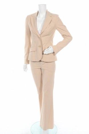 Γυναικείο κοστούμι H&M, Μέγεθος S, Χρώμα  Μπέζ, 65% πολυεστέρας, 31% βισκόζη, 4% ελαστάνη, Τιμή 23,97€