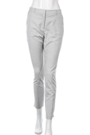 Дамски панталон H&M, Размер S, Цвят Сив, 66% полиестер, 31% вискоза, 6% еластан, Цена 16,38лв.