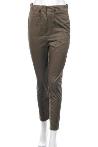 Дамски панталон H&M, Размер XXS, Цвят Зелен, 67% полиестер, 33% памук, Цена 19,85лв.