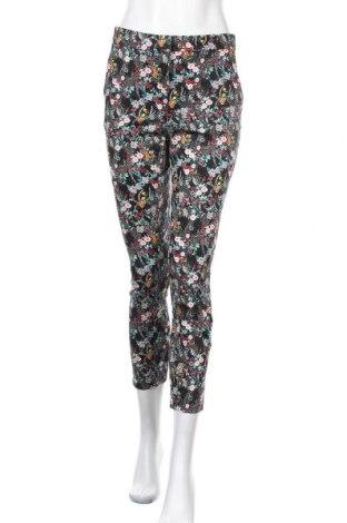 Дамски панталон H&M Divided, Размер S, Цвят Многоцветен, 98% памук, 2% еластан, Цена 23,63лв.