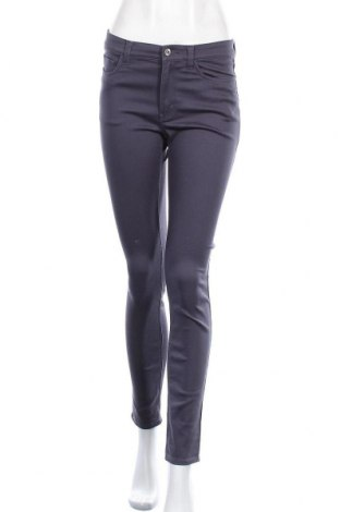 Дамски панталон H&M L.O.G.G., Размер M, Цвят Син, 65% памук, 33% полиестер, 2% еластан, Цена 24,94лв.