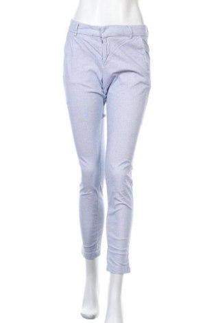 Дамски панталон H&M L.O.G.G., Размер S, Цвят Син, 97% памук, 3% еластан, Цена 12,29лв.