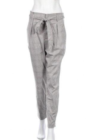 Дамски панталон H&M L.O.G.G., Размер M, Цвят Сив, 100% памук, Цена 20,58лв.