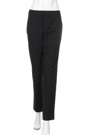 Дамски панталон Halogen, Размер L, Цвят Черен, 68% полиестер, 28% вискоза, 4% еластан, Цена 18,43лв.