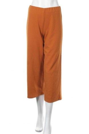 Дамски панталон Jacqueline De Yong, Размер S, Цвят Кафяв, 95% полиестер, 5% еластан, Цена 23,60лв.