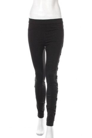 Дамски панталон Janina, Размер M, Цвят Черен, 77% вискоза, 20% полиамид, 3% еластан, Цена 24,94лв.