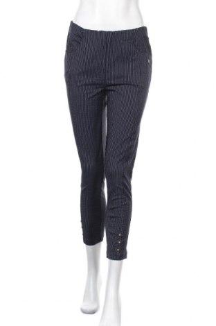 Дамски панталон Laurie, Размер M, Цвят Син, 69% вискоза, 21% полиамид, 6% полиестер, 4% еластан, Цена 13,86лв.