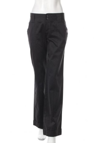 Γυναικείο παντελόνι Mango, Μέγεθος M, Χρώμα Μαύρο, Βαμβάκι, Τιμή 22,73€