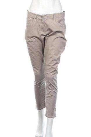 Дамски панталон Michele Boyard, Размер M, Цвят Сив, 98% памук, 2% еластан, Цена 7,35лв.