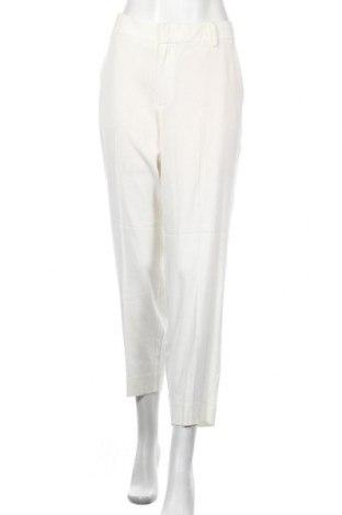Γυναικείο παντελόνι Noa Noa, Μέγεθος XL, Χρώμα Λευκό, 42% βισκόζη, 41% τενσελ, 17% λινό, Τιμή 19,00€