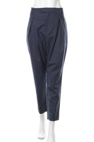 Γυναικείο παντελόνι Noa Noa, Μέγεθος L, Χρώμα Μπλέ, 60% πολυεστέρας, 40% μαλλί, Τιμή 24,94€