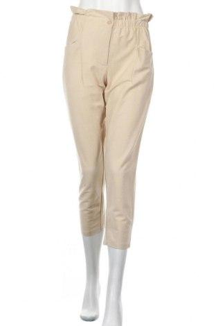 Дамски панталон ONLY, Размер S, Цвят Бежов, 80% памук, 20% полиамид, Цена 12,40лв.