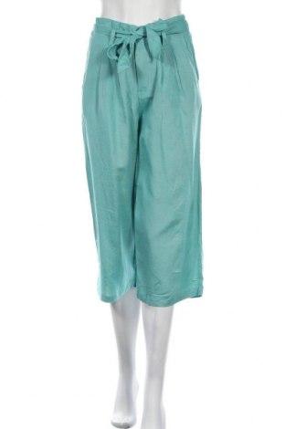 Дамски панталон ONLY, Размер S, Цвят Син, 50% вискоза, 40% памук, 10% лен, Цена 28,38лв.