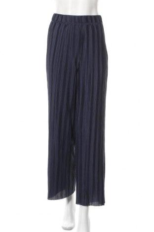 Дамски панталон ONLY, Размер S, Цвят Син, 100% полиестер, Цена 24,80лв.