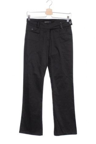 Дамски панталон Patrizia Pepe, Размер S, Цвят Черен, 98% памук, 2% еластан, Цена 30,94лв.